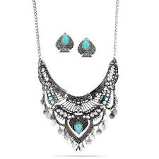 silver turquoise necklace images Accessories shoes fashion bombshellz online boutique jpg