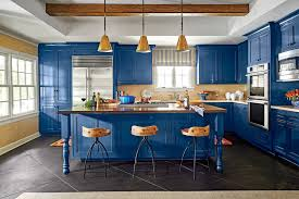 light blue kitchen walls cabinets bold kitchen paint colors for 2021 southern living