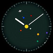 planets watchface android wear put the planets on your wrist