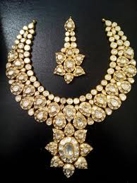 necklace diamond gold images Polki diamond loose stones manufacturer from jaipur jpg