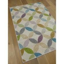 tapis shaggy tapis shaggy tout doux motif beige rectangles sur fond gris
