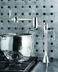 wall mount pot filler kitchen faucet decorating white daltile backsplash with bronze pot filler faucet