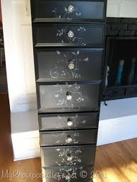 repurposed desk into a chest my repurposed life