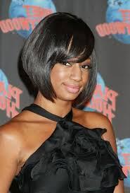 bob haircuts on black women