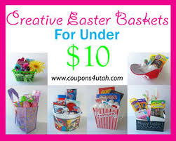 cheap easter baskets no candy easter basket ideas 10 coupons 4 utah