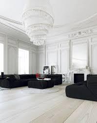 chic apartment design with bright theme in paris glass door rukle