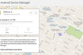 android device manager begins rollout of android device manager to help track your
