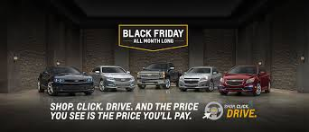 black friday 2015 car deals buick chevrolet gmc ford hyundai