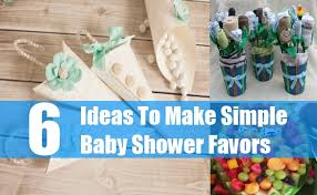 baby shower favors to make how to make simple baby shower favors great ideas for baby