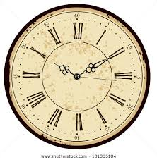 printable antique clock faces grunge old vintage clock face stock vector 101865184 shutterstock