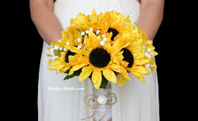 wedding flowers sunflowers lace sunflower wedding flowers gardening flower and vegetables