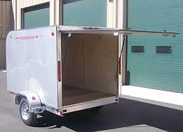 enclosed trailer exterior lights factory direct trailers worthington cge 66 series ultra light