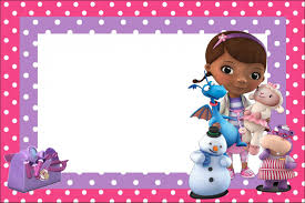 doc mcstuffins invitations doc mcstuffins invitations