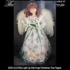 irish angel tree toppers and ornaments