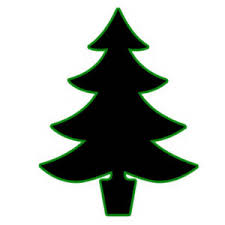 christmas tree black and white clip art black and white xmas trees