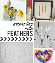 feather home decor roundup circus berry