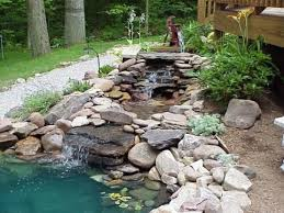 Backyard Water Falls by 75 Relaxing Garden And Backyard Waterfalls Digsdigs