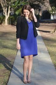 black jacket with blue dress black dress pants