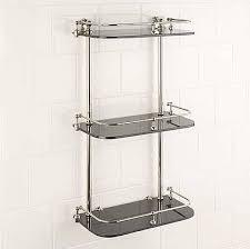 Shelves For Bathroom Bathroom Corner Shelf Cabinet All Home Design Solutions The