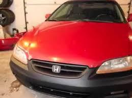 honda accord bumper cover 2001 2002 honda accord coupe bumper conversion on a 1998 honda