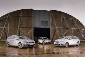 peugeot 608 estate peugeot 308 sw vs compact estate rivals auto express