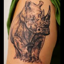 rhino tattoo meanings itattoodesigns com