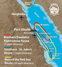 Map Of The Red Sea Red Sea Rush U2013 Exploring The Egyptian Coast With The Aggressor