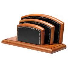 parure de bureau parure de bureau bois style cuir noir n 10 collection trianon