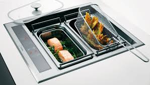 plancha encastrable cuisine les nouvelles tables de cuisson inspiration cuisine le