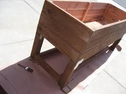 Wooden Planter Box Plans by Best 25 Raised Planter Boxes Ideas On Pinterest Garden Planter