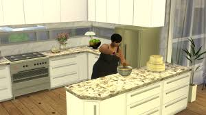 cuisine sims 3 mod the sims kitchen from patio stuff no backsplash