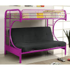 Futon Bunk Bed - Metal bunk bed futon combo