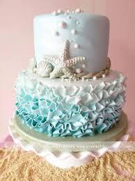 cute simple beach cake by sweet indulgence in rhode island my