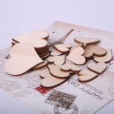 100pcs bag blank unfinished wooden crafts supplies laser cut