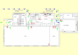Fire Evacuation Floor Plan Portal Hall Floorplan