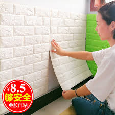usd 6 97 3d stereo wall stickers wallpaper self adhesive living