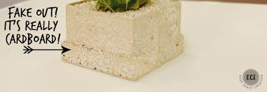 Faux Stone Planters by Succulent Place Cards Home Depot Garden Party East Coast Creative