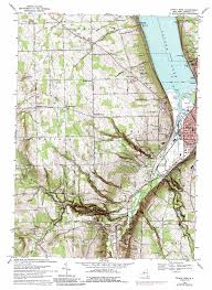 Ithaca New York Map by Ithaca West Topographic Map Ny Usgs Topo Quad 42076d5