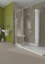 Corner Shower Units For Small Bathrooms Walk In Shower Magnificent Corner Shower Stall Kits Enclosed