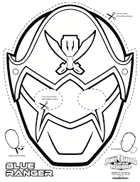 power rangers mask coloring pages eson