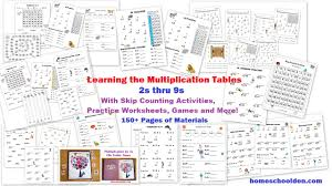 free 30 page halloween multiplication packet math worksheets and
