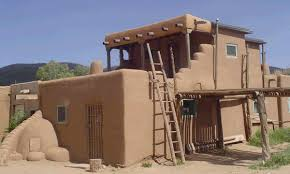 pueblo house plans taos pueblo