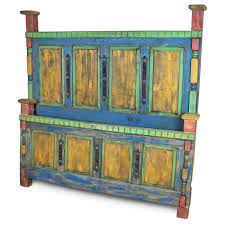 Mexican Rustic Bedroom Furniture Mexican Painted Wood Bedroom Furniture