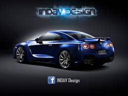 gtr nissan 2017 2017 nissan gt r facelift front and rear rendering