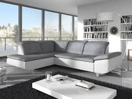 canapé d angle avec méridienne canapé d angle flash avec méridienne à gauche gris blanc lehner