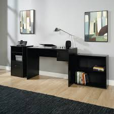 Small Home Office Furniture Sets Mainstays 3 Office Set Black Walmart