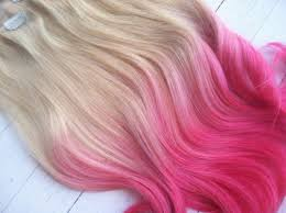 hair candy extensions dip dye ombre hair extensions cotton candy by ninascreativecouture