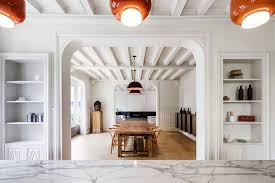 contemporary interior contemporary renovation of a 19th century french half timbered