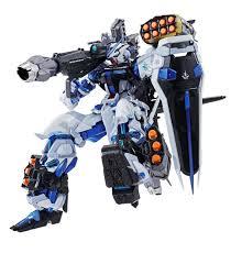 blue seed bandai tamashii nations metal build astray blue frame