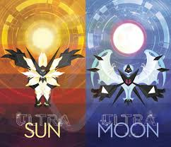 modified my sun moon poster designs for ultra sun ultra moon